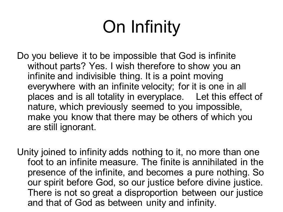 On Infinity