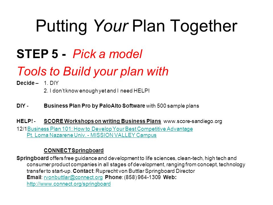 How to Simply Write a Business Plan for a Loan