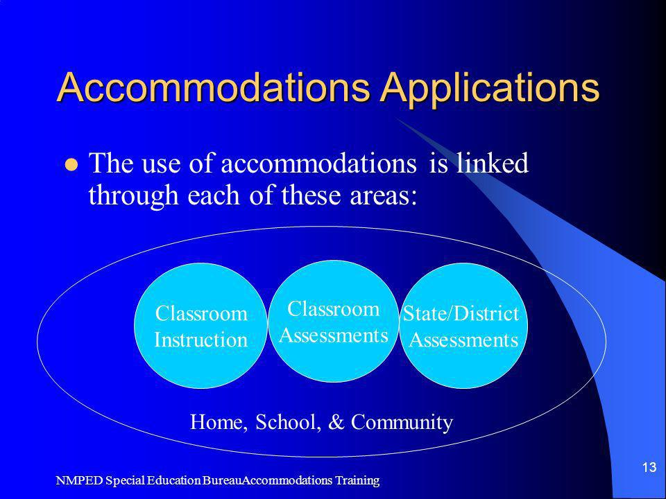 Accommodations Applications