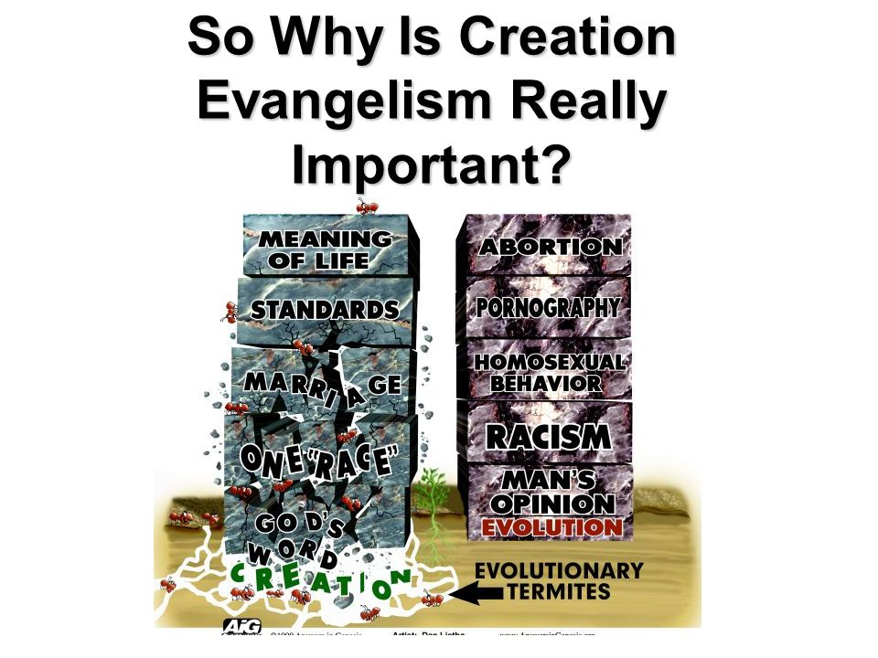 So Why Is Creation Evangelism Really Important