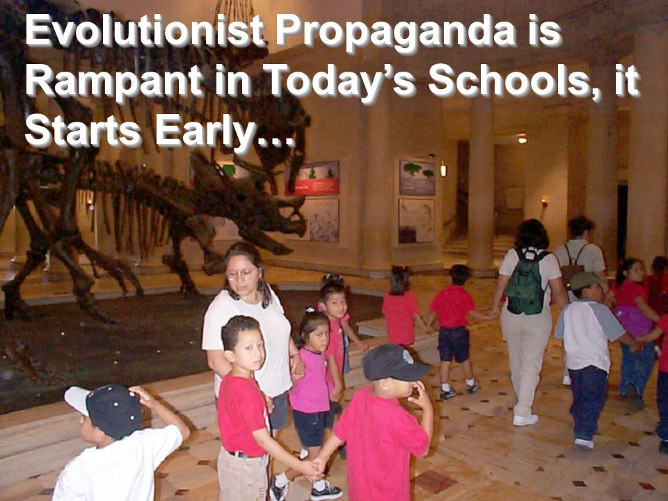 Evolutionist Propaganda is Rampant in Today's Schools, it Starts Early…