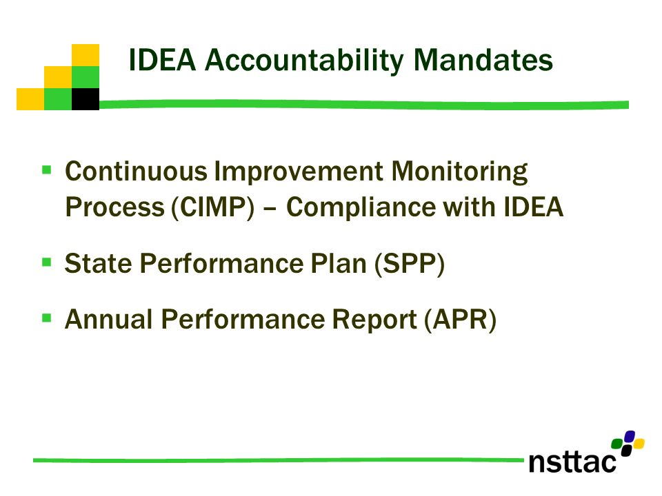 IDEA Accountability Mandates