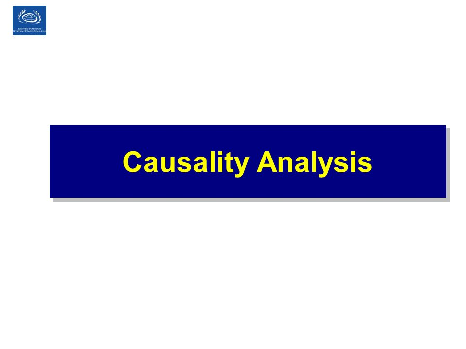 Causality Analysis Tips for Presenter