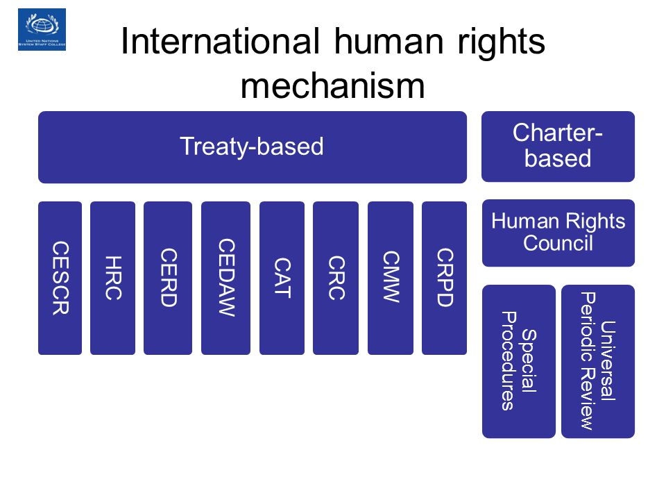 International human rights mechanism