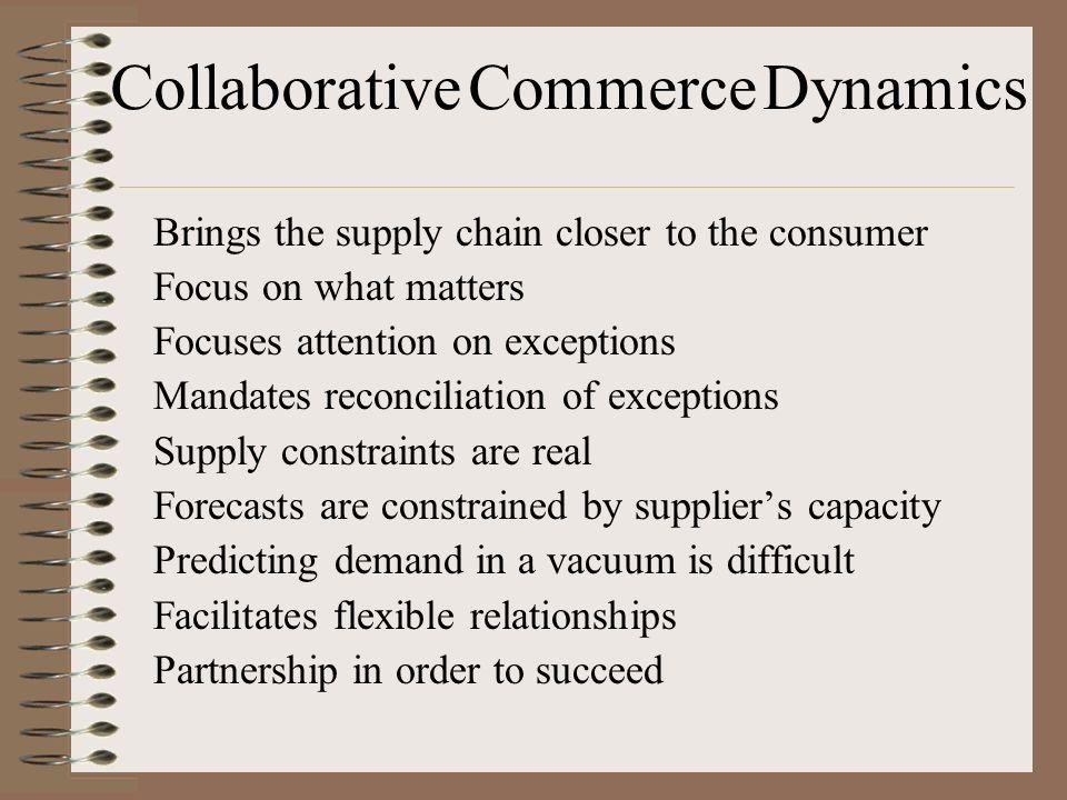 Collaborative Commerce Dynamics
