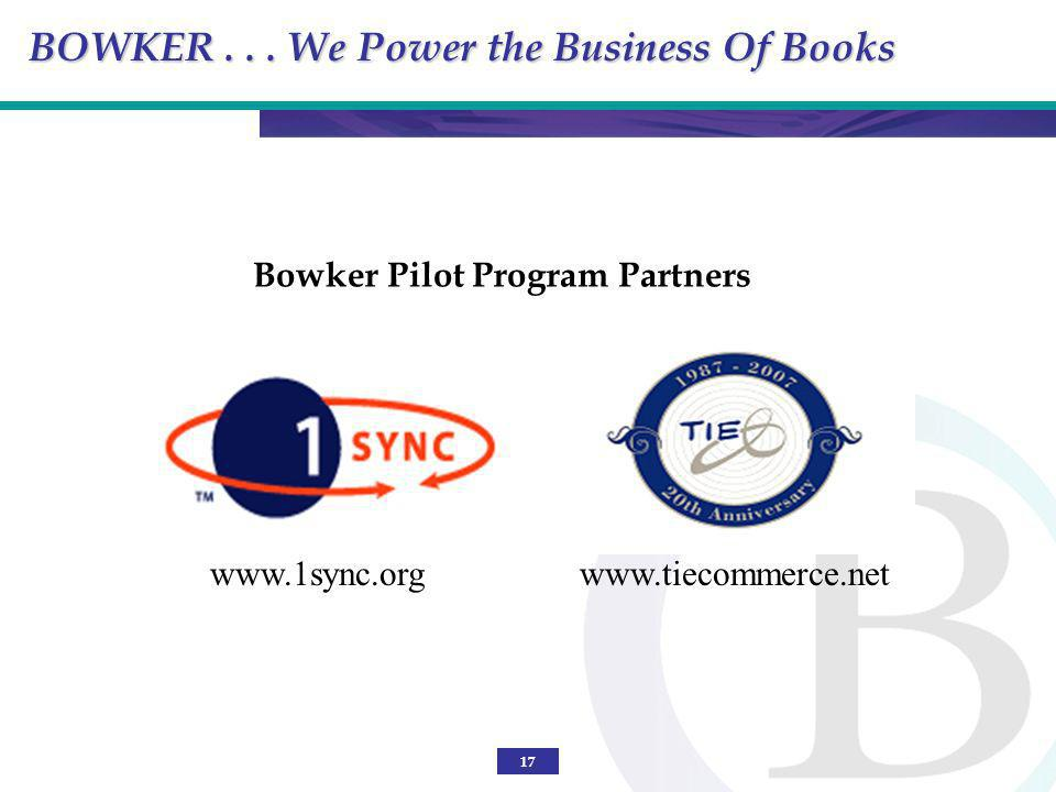 Bowker Pilot Program Partners