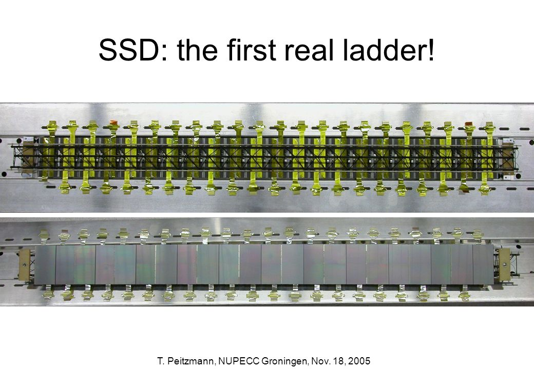 SSD: the first real ladder!