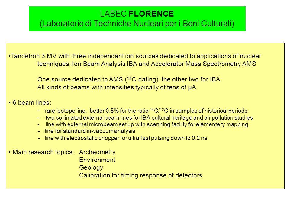 LABEC FLORENCE (Laboratorio di Techniche Nucleari per i Beni Culturali)