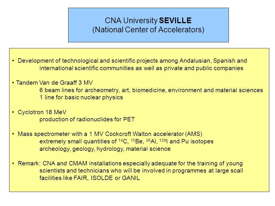 CNA University SEVILLE (National Center of Accelerators)