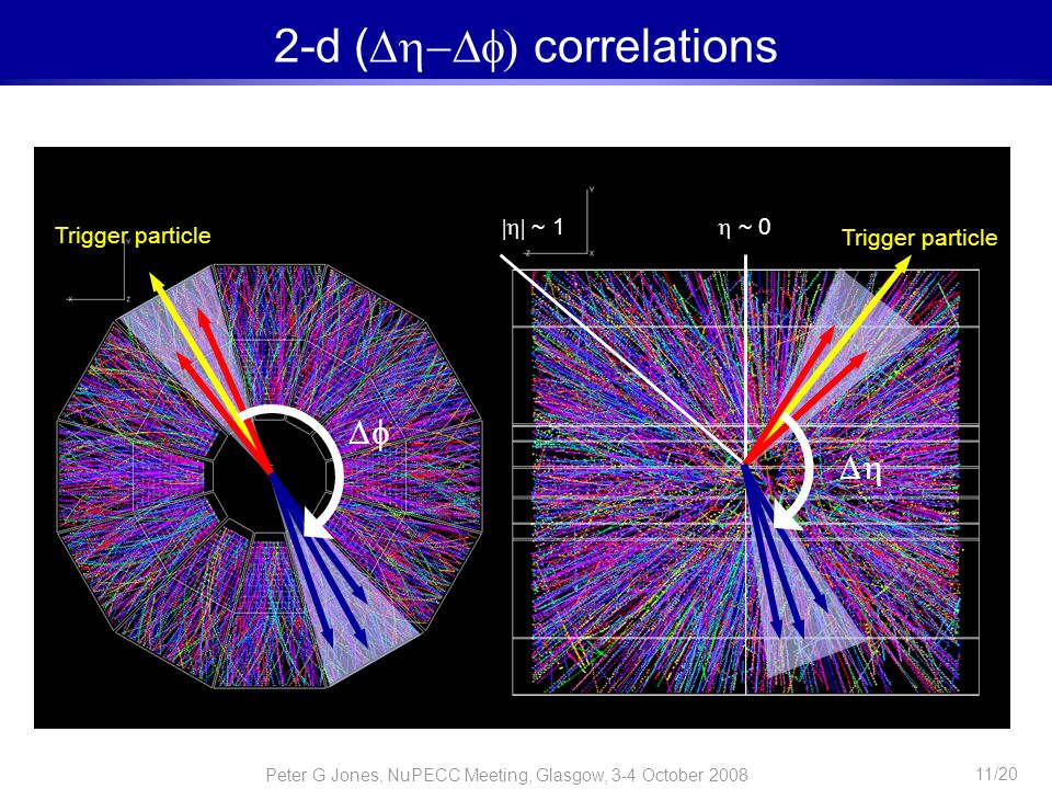 2-d ( correlations