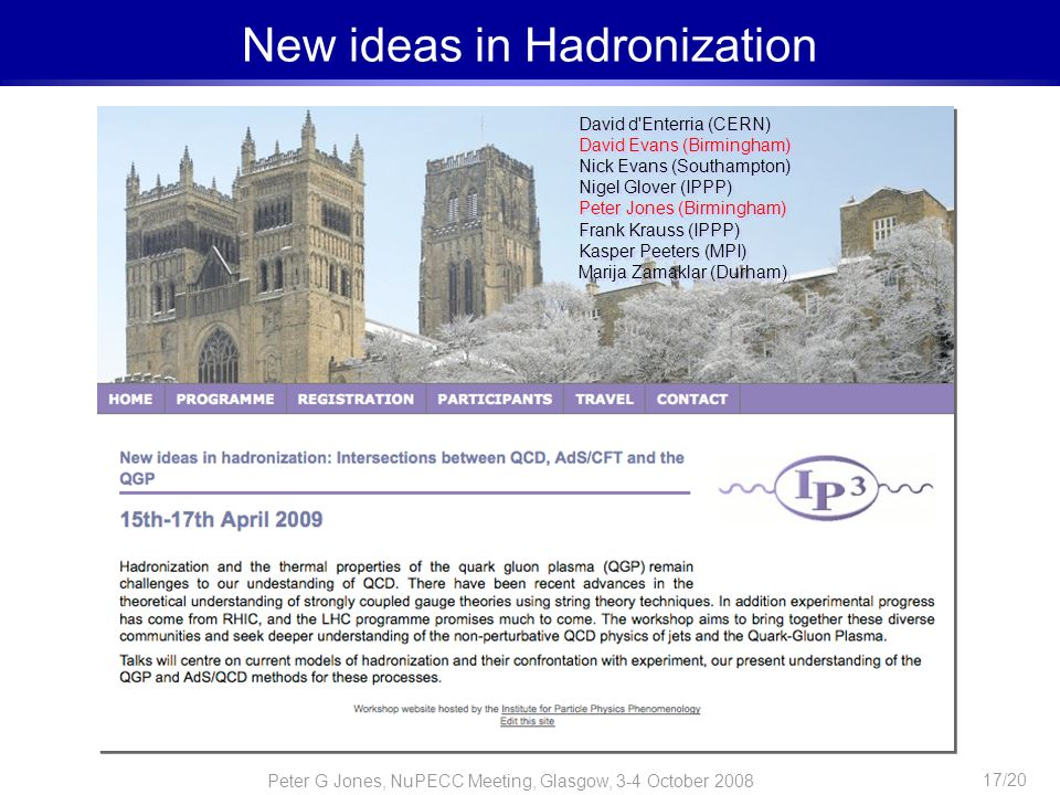 New ideas in Hadronization