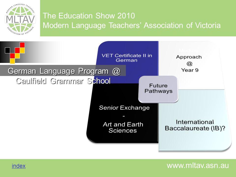 German Language Program @ Caulfield Grammar School