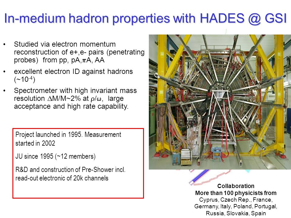 In-medium hadron properties with HADES @ GSI