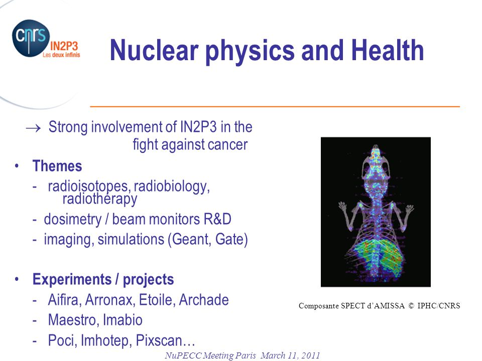 Nuclear physics and Health