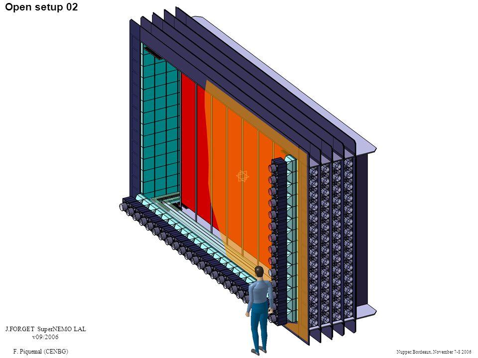 Open setup 02 J.FORGET SuperNEMO LAL v09/2006