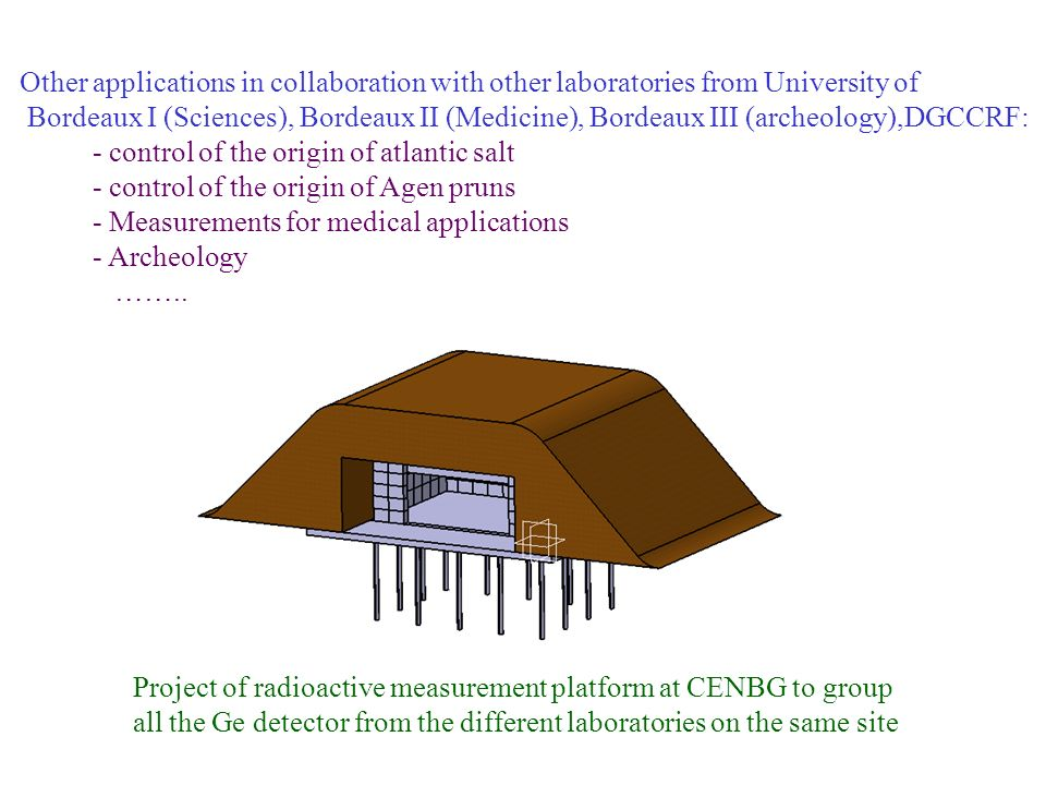 Other applications in collaboration with other laboratories from University of