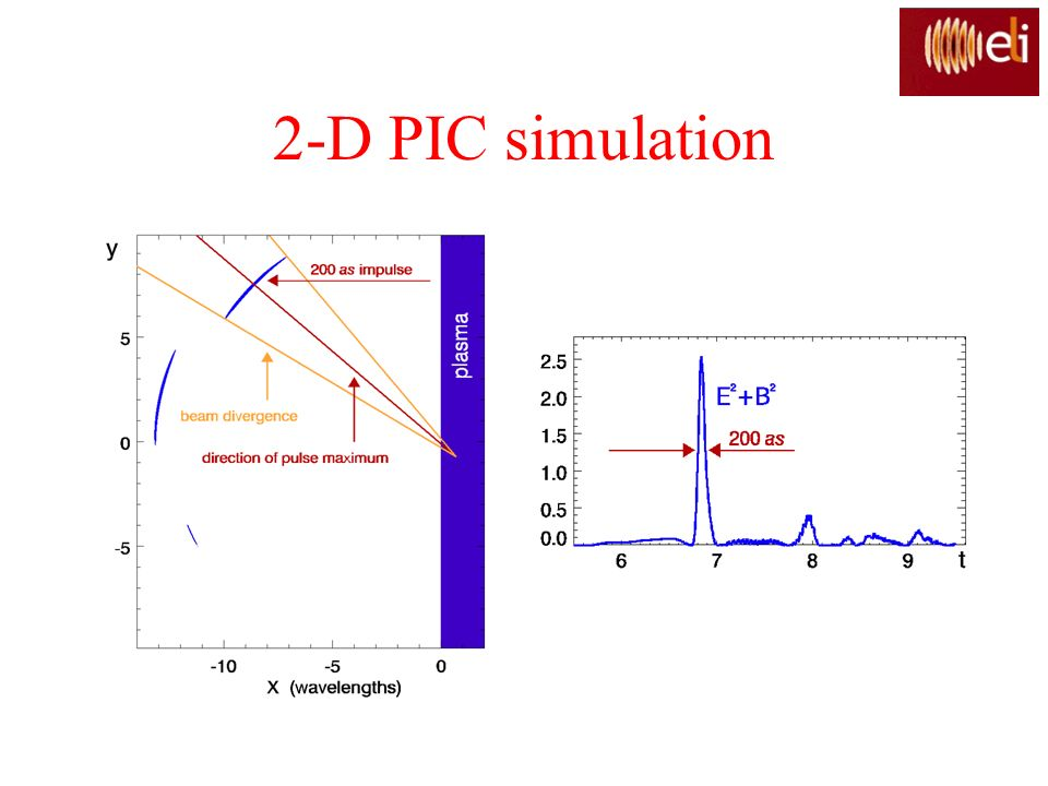 2-D PIC simulation