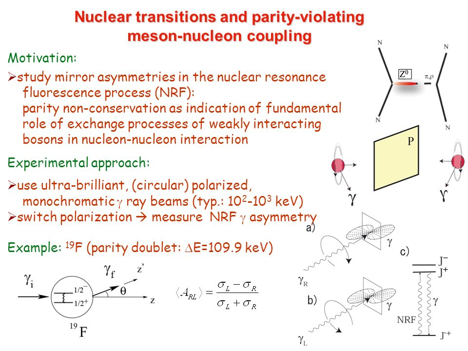Nuclear transitions and parity-violating meson-nucleon coupling