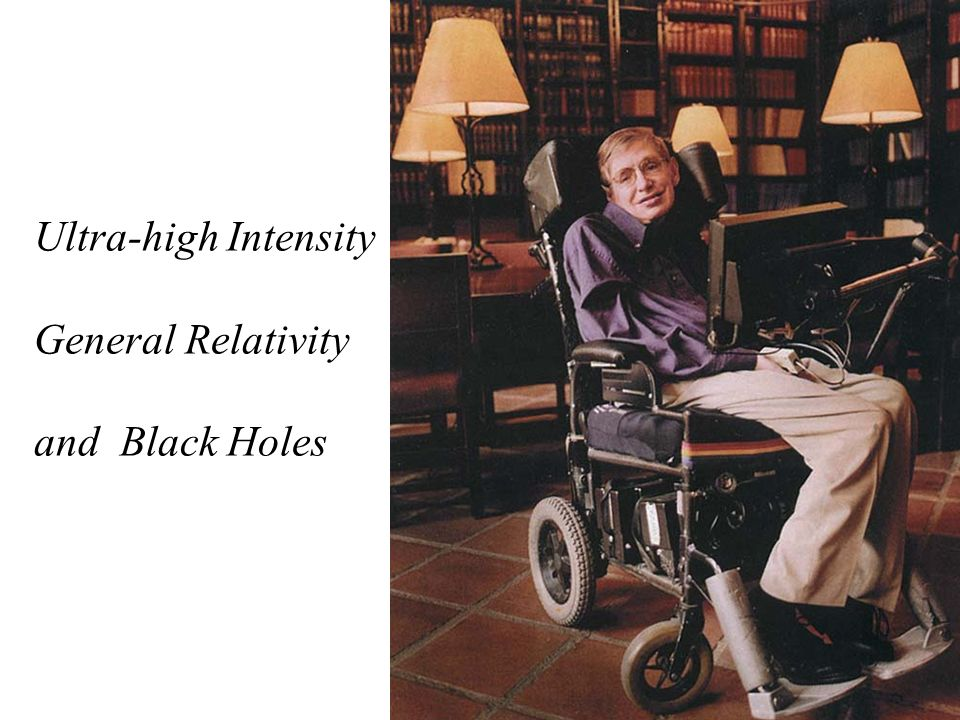 Ultra-high Intensity General Relativity and Black Holes
