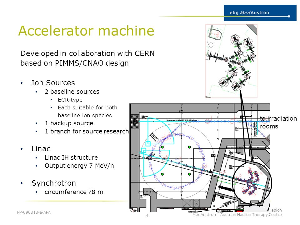 Accelerator machine Developed in collaboration with CERN