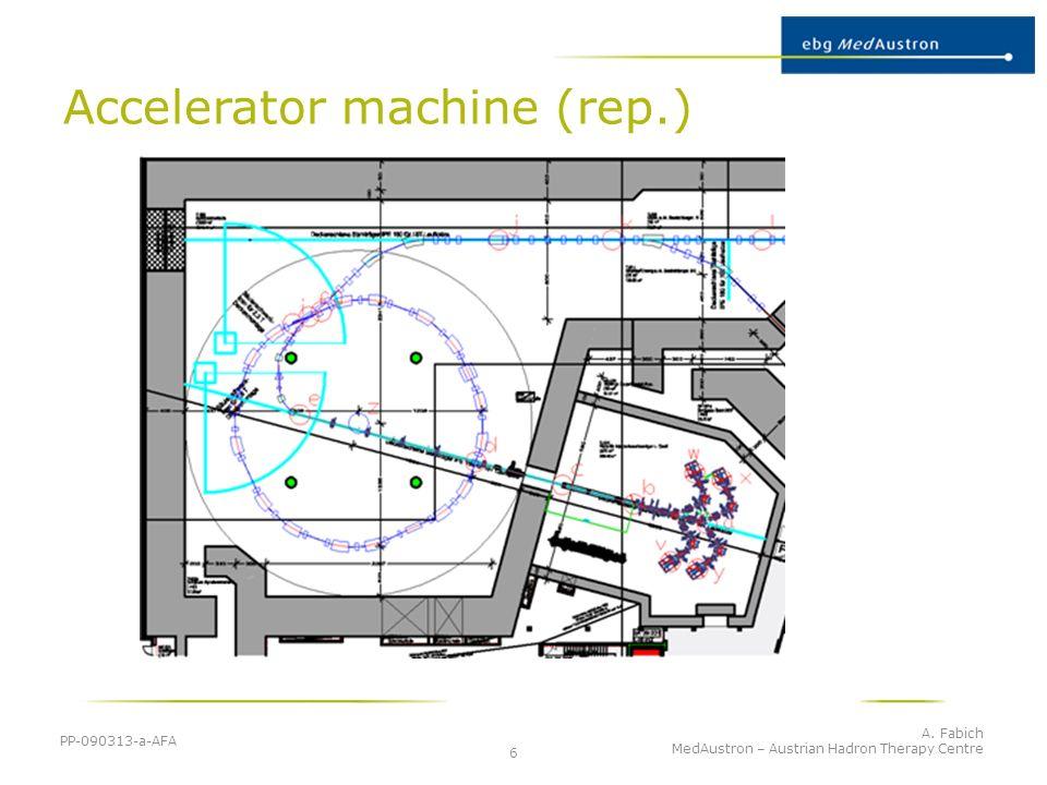 Accelerator machine (rep.)