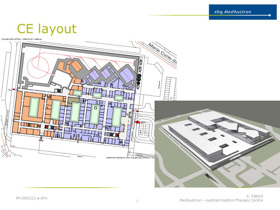 CE layout PP-090313-a-AFA MedAustron – Austrian Hadron Therapy Centre