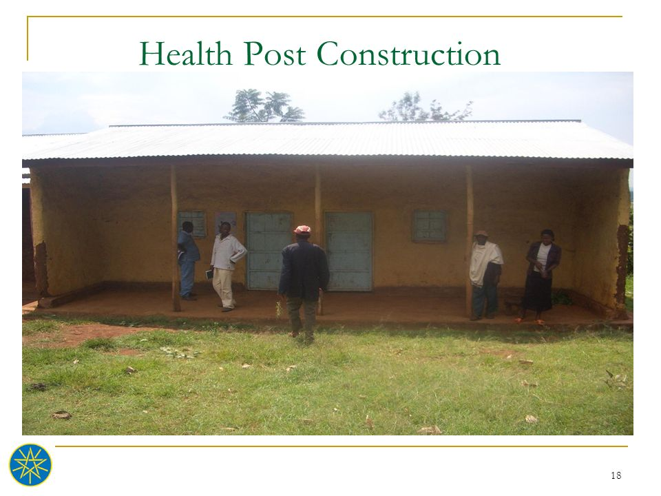Health Post Construction