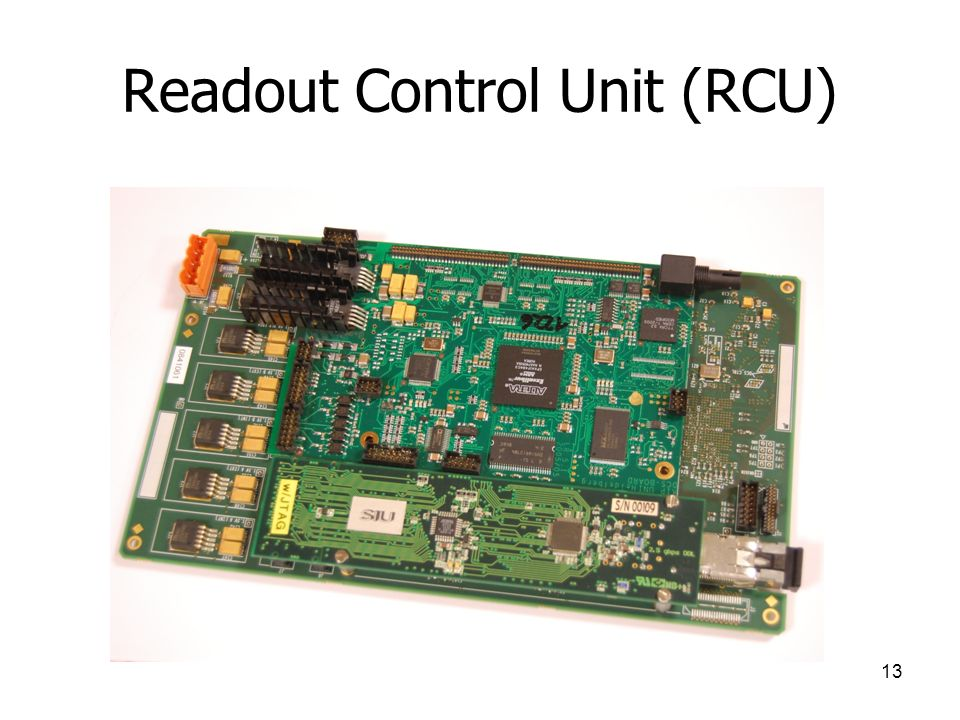 Readout Control Unit (RCU)