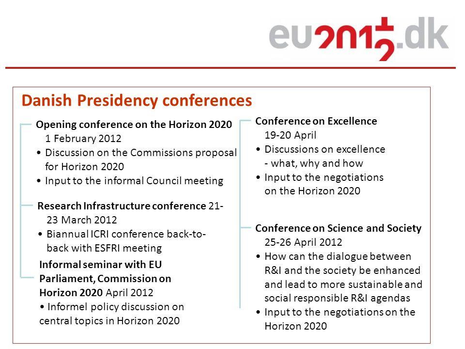 Danish Presidency conferences