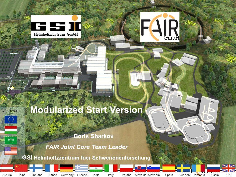 Modularized Start Version