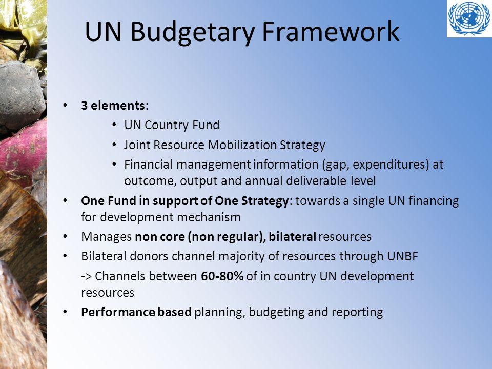 UN Budgetary Framework