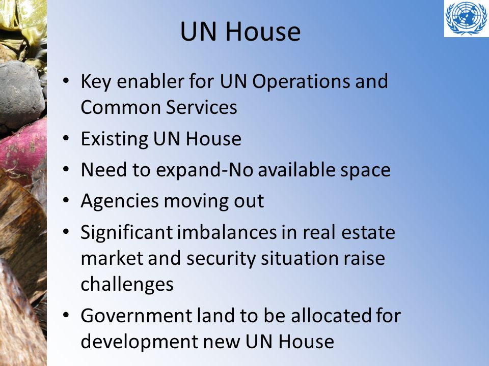 UN House Key enabler for UN Operations and Common Services