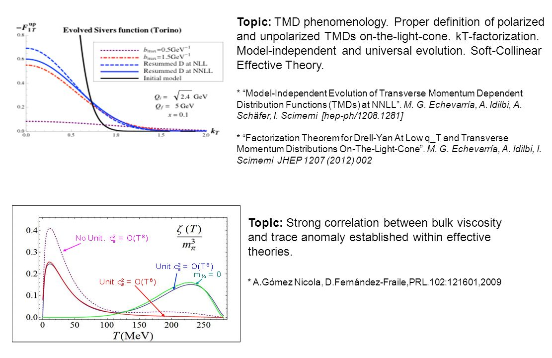 Topic: TMD phenomenology