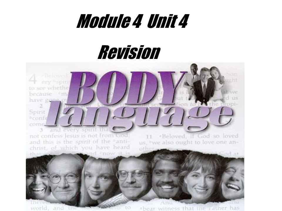 Module 4 Unit 4 Revision