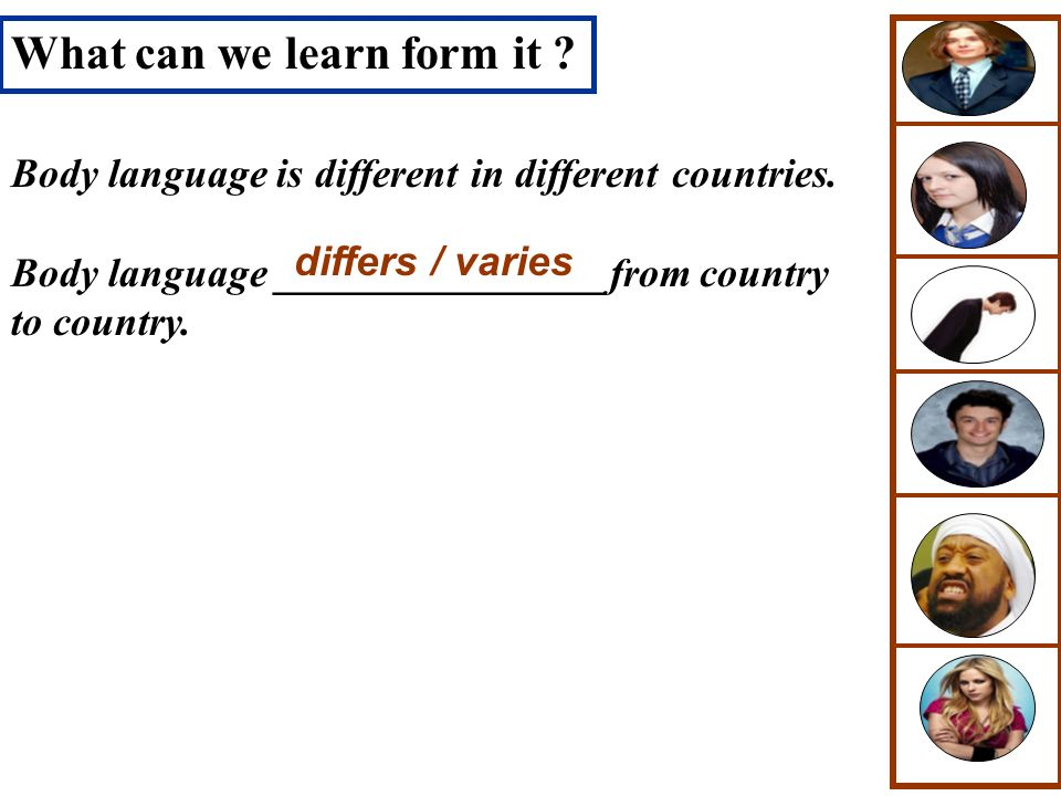 What can we learn form it