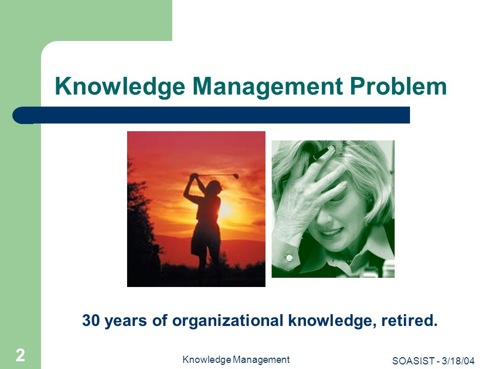 Knowledge Management Problem