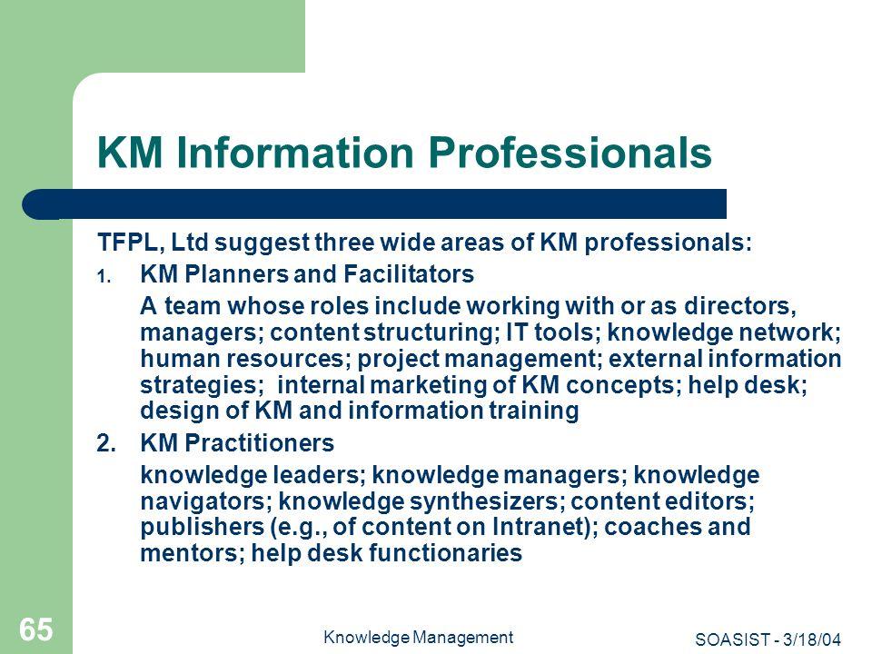 KM Information Professionals