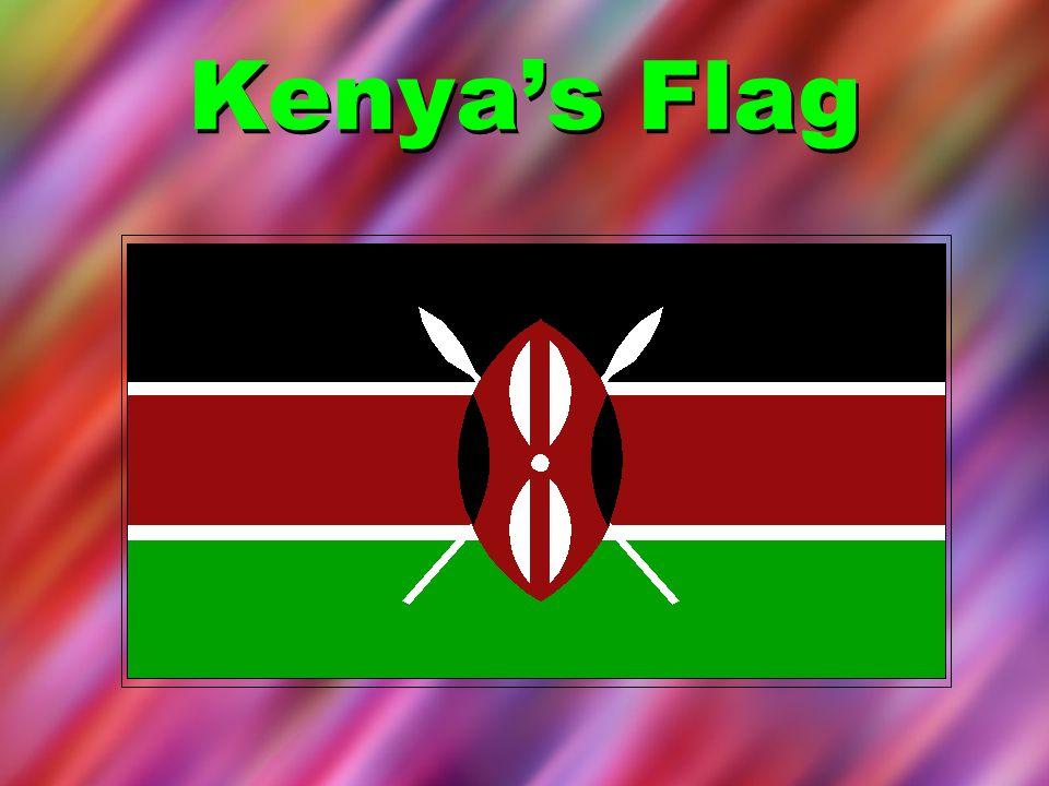 Kenya's Flag