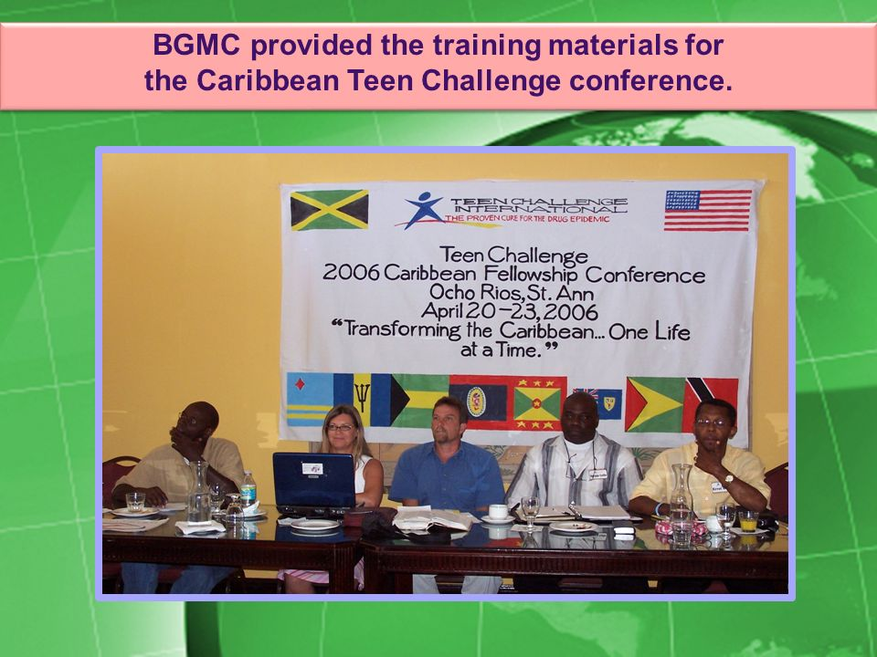 BGMC provided the training materials for