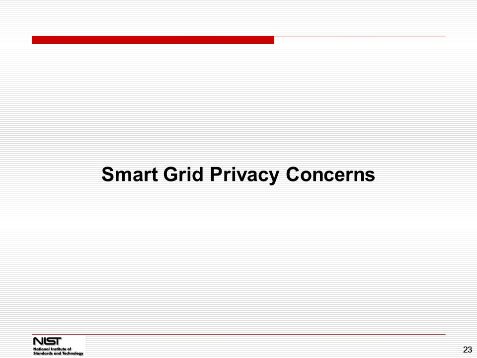 Smart Grid Privacy Concerns