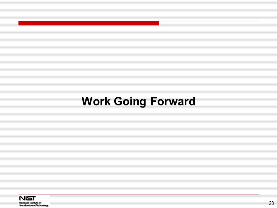 01/14/11 Work Going Forward 28