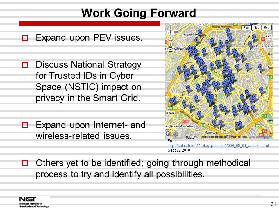 Work Going Forward Expand upon PEV issues.