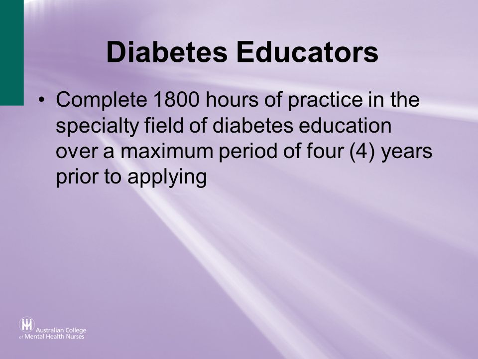 Diabetes Educators