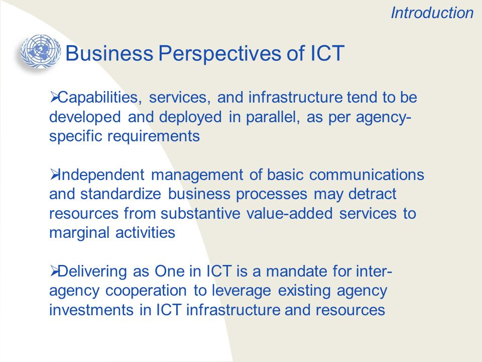 Business Perspectives of ICT