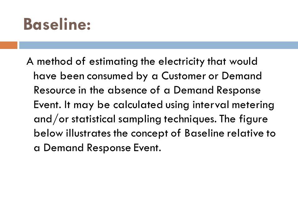 Baseline: