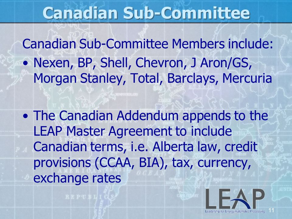 Canadian Sub-Committee