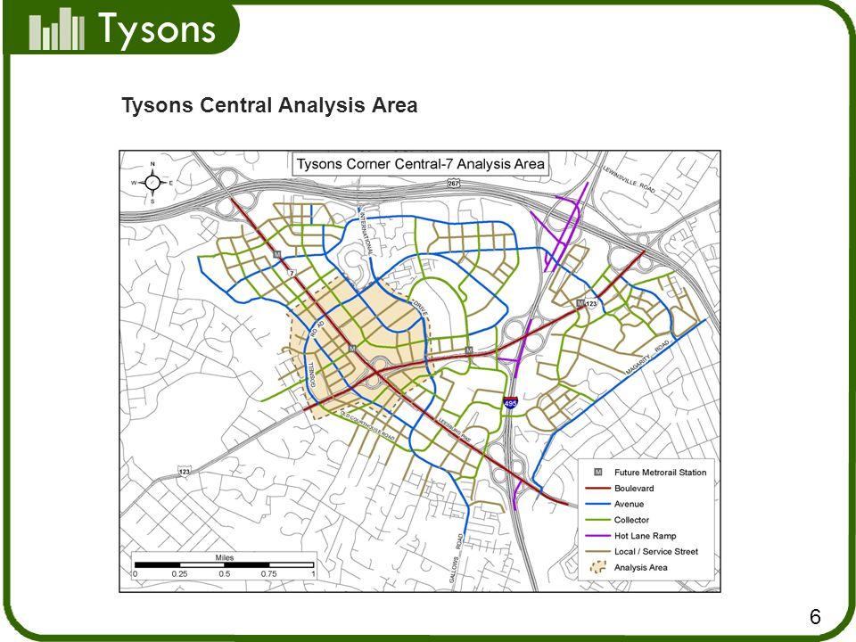 Tysons Central Analysis Area