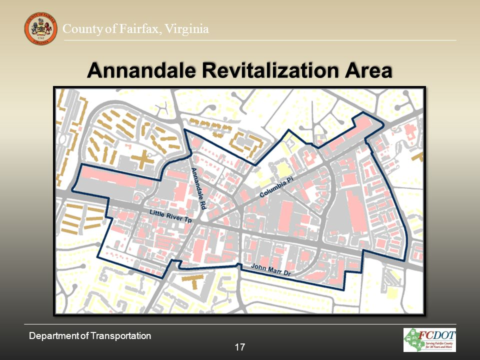 Annandale Revitalization Area