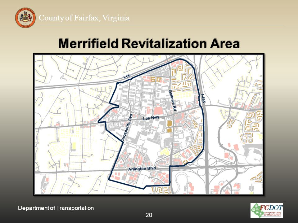 Merrifield Revitalization Area