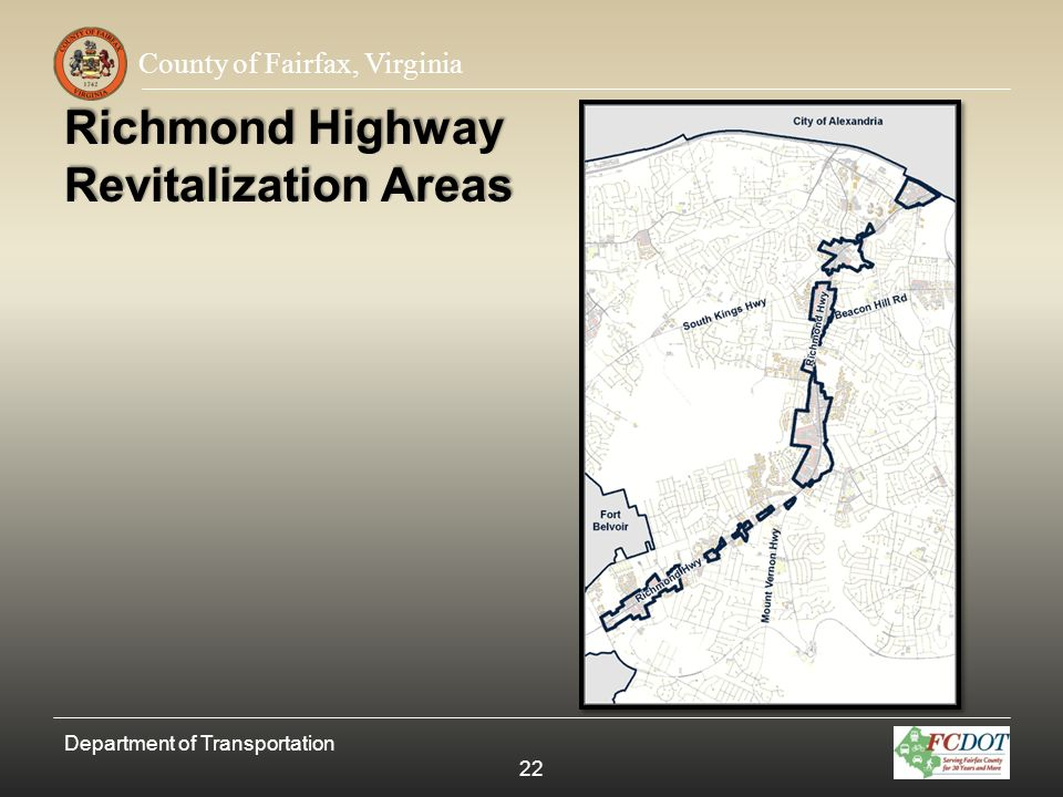 Richmond Highway Revitalization Areas